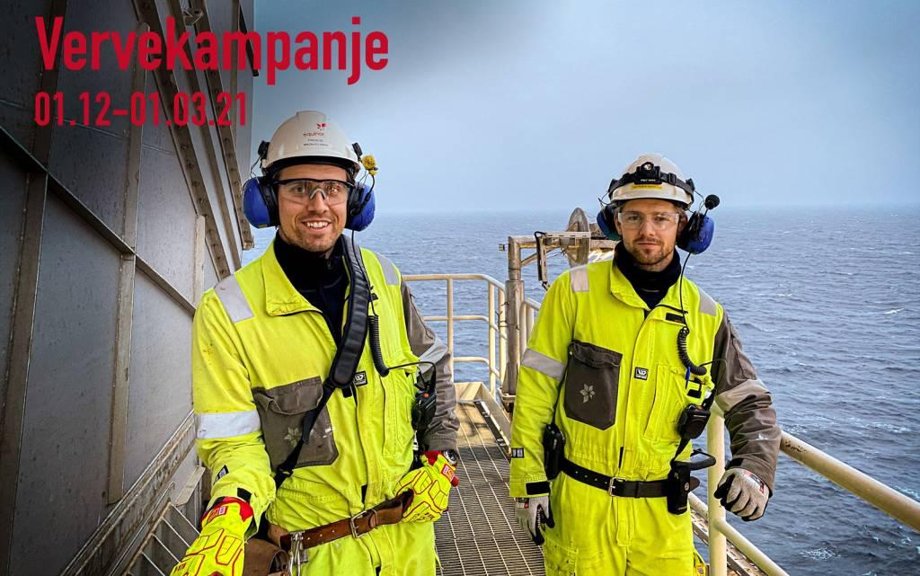 SAFE i Equinor Sokkel - Vervekampanje 01.12 - 01.03.21